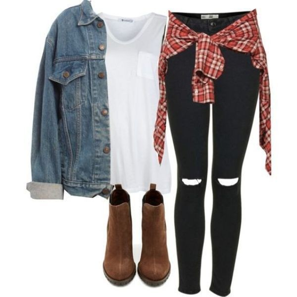 school-outfit-ideas-200 Fabulous School Outfit Ideas for Teenage Girls 2020