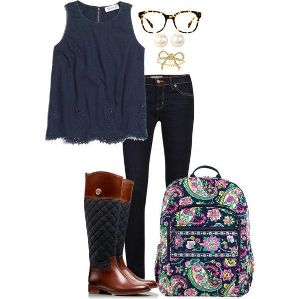 school-outfit-ideas-201 Fabulous School Outfit Ideas for Teenage Girls 2017/2018