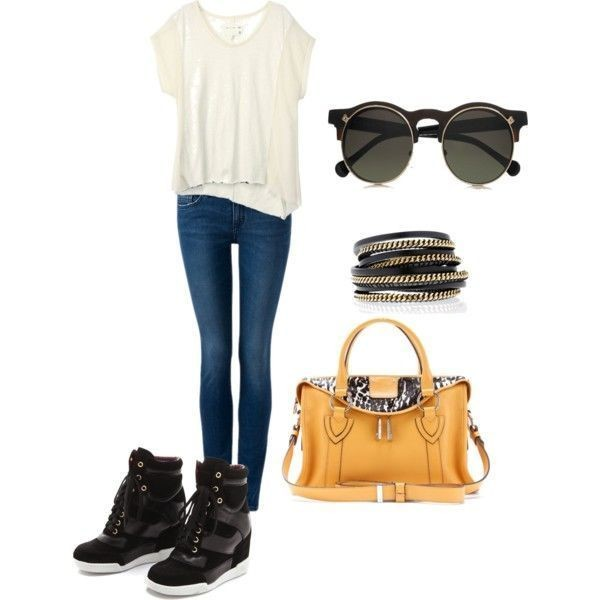 school-outfit-ideas-202 Fabulous School Outfit Ideas for Teenage Girls 2017/2018