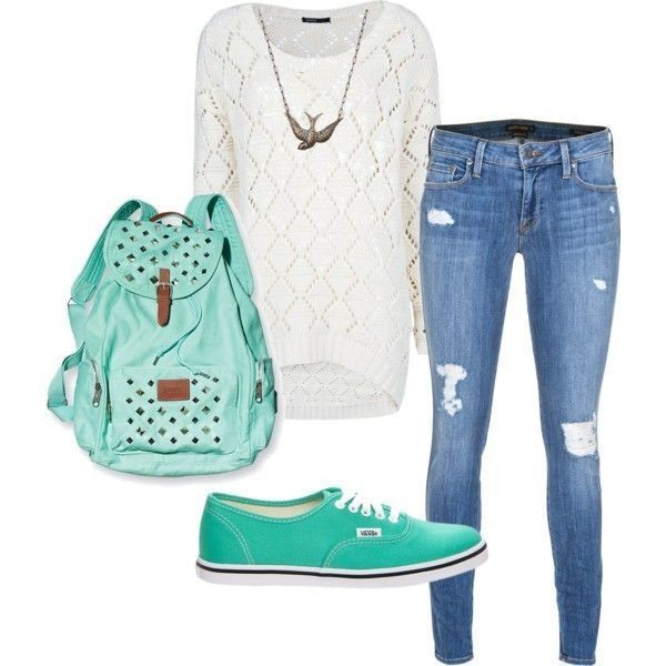 school-outfit-ideas-203 Fabulous School Outfit Ideas for Teenage Girls 2017/2018