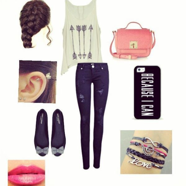 school-outfit-ideas-208 Fabulous School Outfit Ideas for Teenage Girls 2020