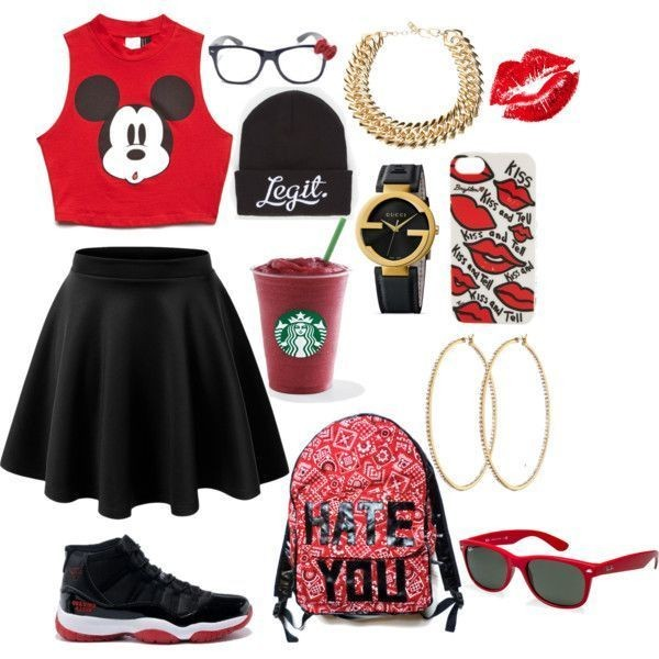 school-outfit-ideas-210 Fabulous School Outfit Ideas for Teenage Girls 2020