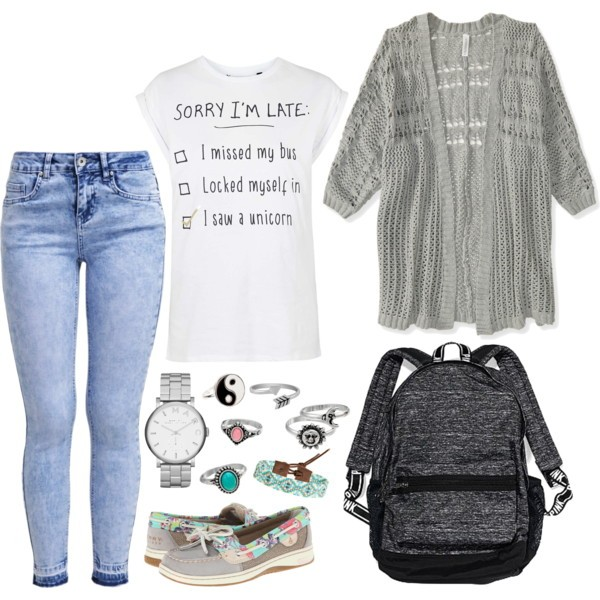 school-outfit-ideas-215 Fabulous School Outfit Ideas for Teenage Girls 2020