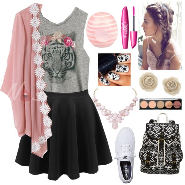 school-outfit-ideas-220 Fabulous School Outfit Ideas for Teenage Girls 2017/2018