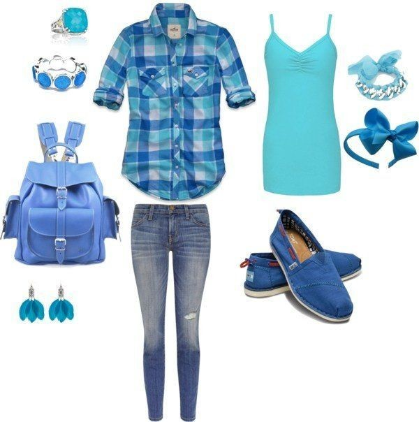 school-outfit-ideas-222 Fabulous School Outfit Ideas for Teenage Girls 2020