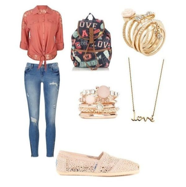 school-outfit-ideas-223 Fabulous School Outfit Ideas for Teenage Girls 2018