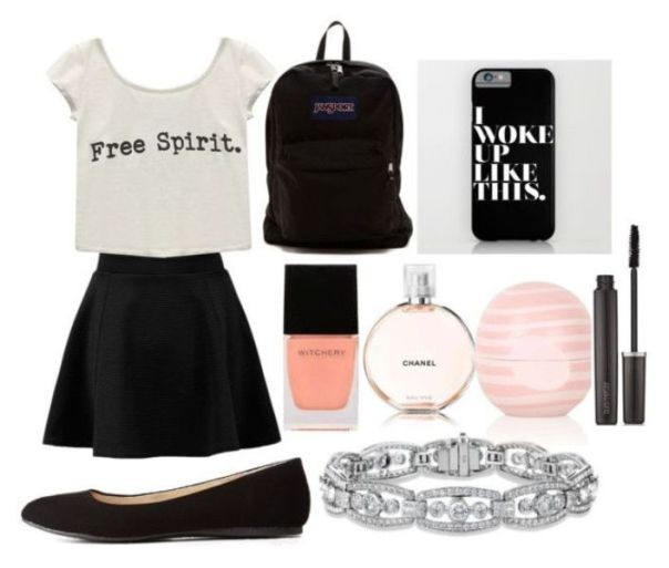 school-outfit-ideas-229 Fabulous School Outfit Ideas for Teenage Girls 2018