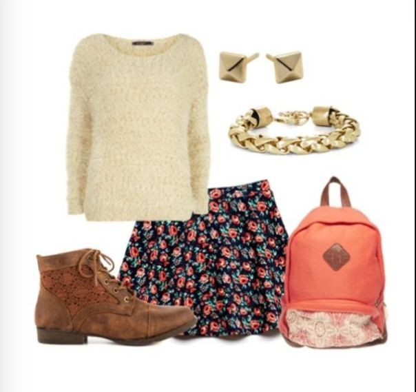 school-outfit-ideas-235 Fabulous School Outfit Ideas for Teenage Girls 2020