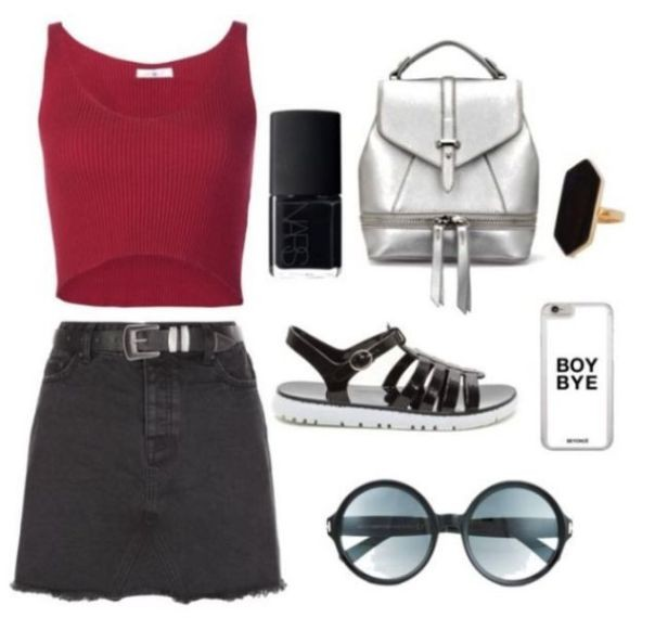 school-outfit-ideas-236 Fabulous School Outfit Ideas for Teenage Girls 2018