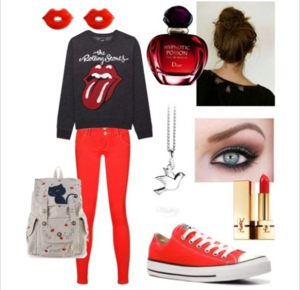 school-outfit-ideas-240 Fabulous School Outfit Ideas for Teenage Girls 2018