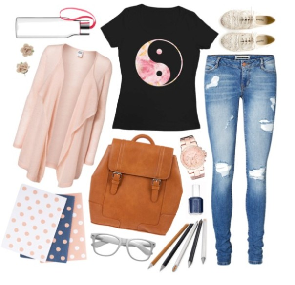 school-outfit-ideas-241 Fabulous School Outfit Ideas for Teenage Girls 2018