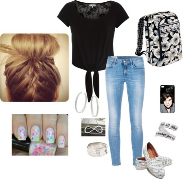 school-outfit-ideas-242 Fabulous School Outfit Ideas for Teenage Girls 2018
