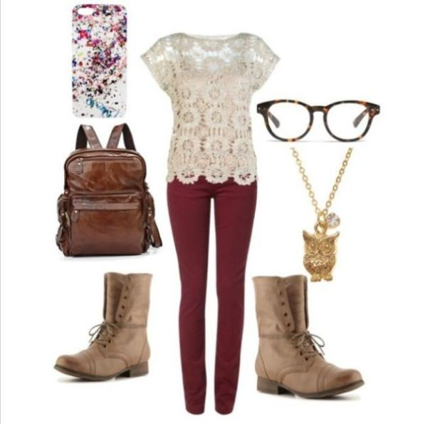 school-outfit-ideas-243 Fabulous School Outfit Ideas for Teenage Girls 2018