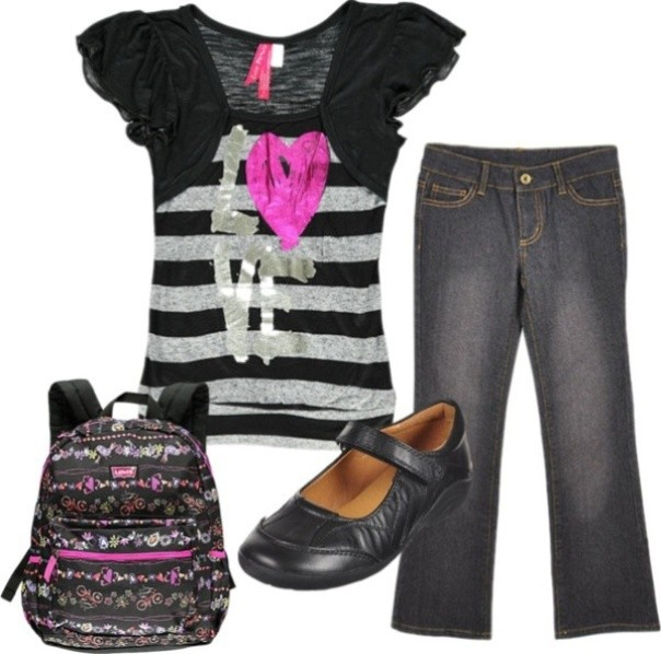 school-outfit-ideas-244 Fabulous School Outfit Ideas for Teenage Girls 2018