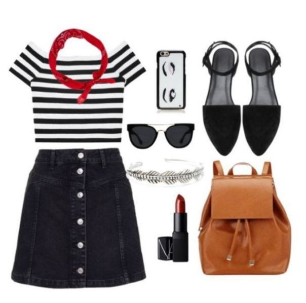 school-outfit-ideas-245 Fabulous School Outfit Ideas for Teenage Girls 2020