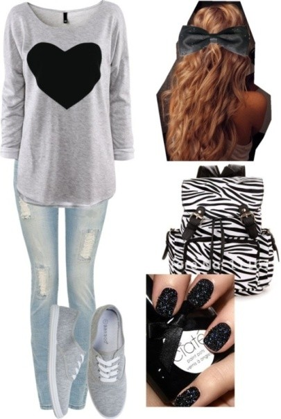 school-outfit-ideas-25 Fabulous School Outfit Ideas for Teenage Girls 2017/2018