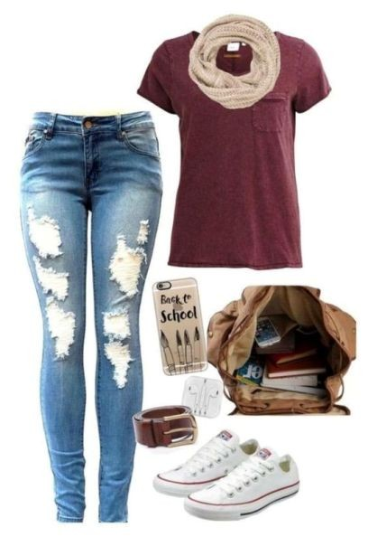 school-outfit-ideas-28 Fabulous School Outfit Ideas for Teenage Girls 2020