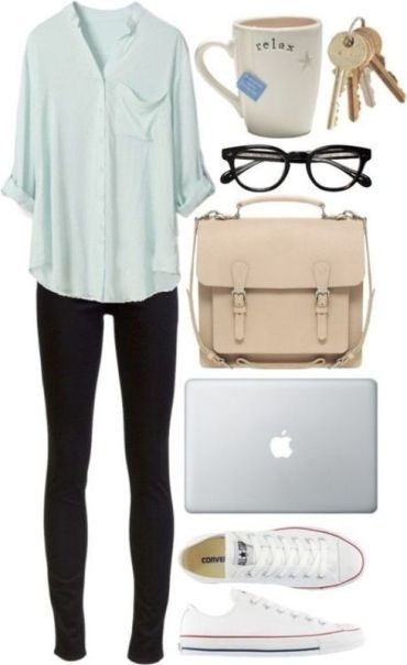 school-outfit-ideas-3 Fabulous School Outfit Ideas for Teenage Girls 2017/2018