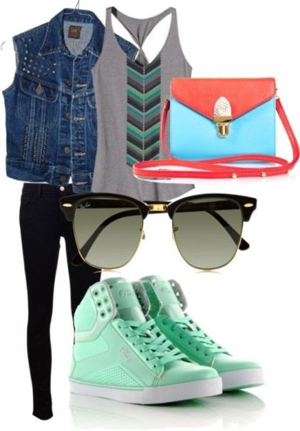 school-outfit-ideas-37 Fabulous School Outfit Ideas for Teenage Girls 2017/2018
