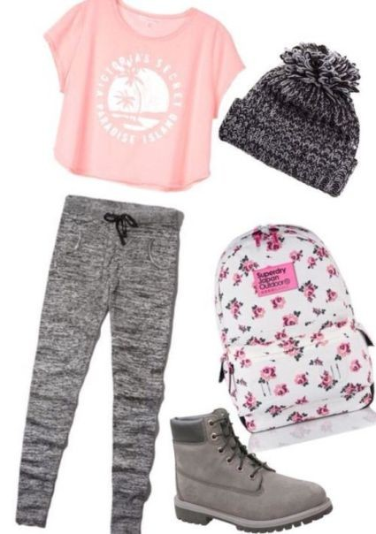 school-outfit-ideas-40 Fabulous School Outfit Ideas for Teenage Girls 2020