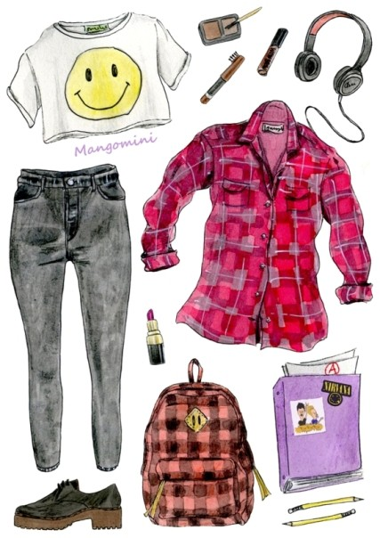 school-outfit-ideas-41 Fabulous School Outfit Ideas for Teenage Girls 2017/2018