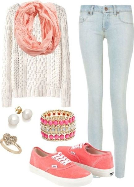 school-outfit-ideas-43 Fabulous School Outfit Ideas for Teenage Girls 2020