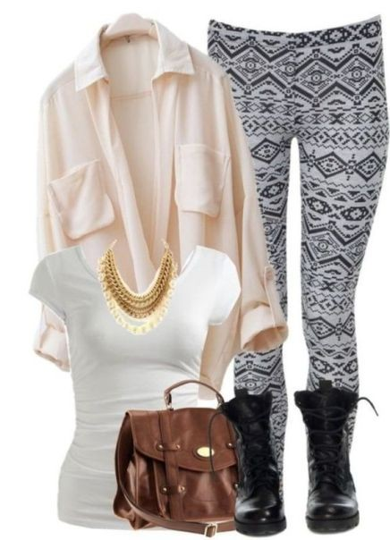 school-outfit-ideas-46 Fabulous School Outfit Ideas for Teenage Girls 2020