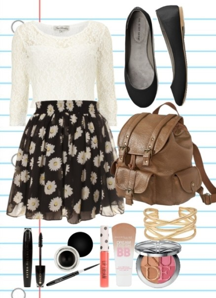 school-outfit-ideas-48 Fabulous School Outfit Ideas for Teenage Girls 2020