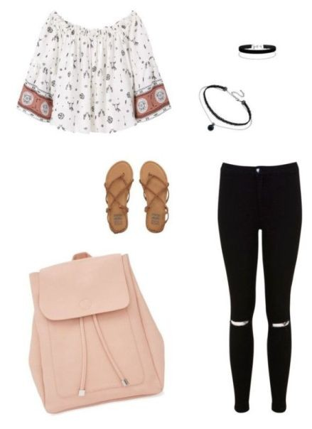 school-outfit-ideas-49 Fabulous School Outfit Ideas for Teenage Girls 2020