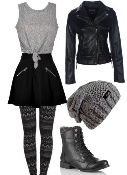 school-outfit-ideas-50 Fabulous School Outfit Ideas for Teenage Girls 2020