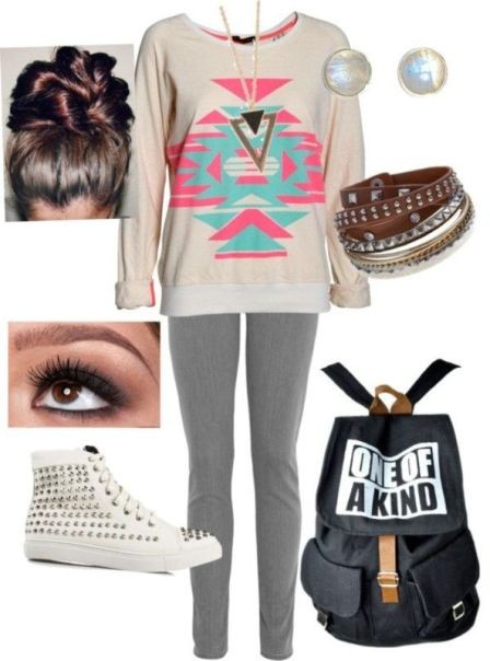 school-outfit-ideas-55 Fabulous School Outfit Ideas for Teenage Girls 2020