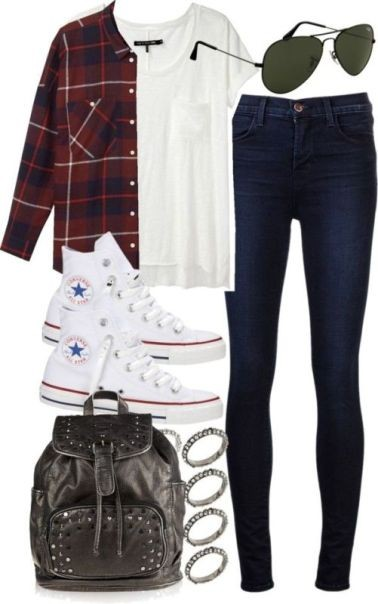 school-outfit-ideas-6 Fabulous School Outfit Ideas for Teenage Girls 2017/2018