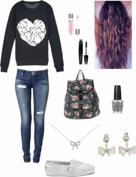 school-outfit-ideas-60 Fabulous School Outfit Ideas for Teenage Girls 2017/2018
