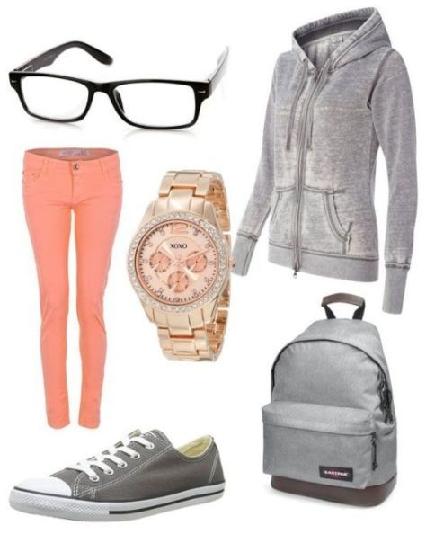 school-outfit-ideas-65 Fabulous School Outfit Ideas for Teenage Girls 2020