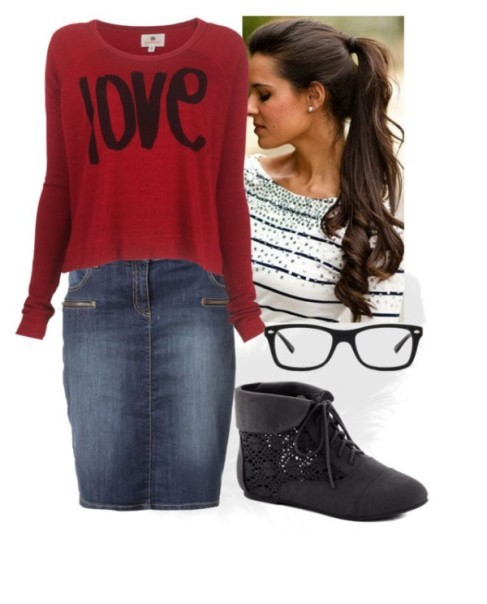 school-outfit-ideas-69 Fabulous School Outfit Ideas for Teenage Girls 2020