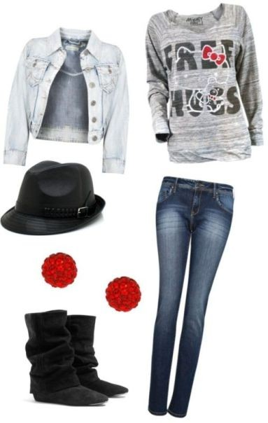 school-outfit-ideas-7 Fabulous School Outfit Ideas for Teenage Girls 2017/2018