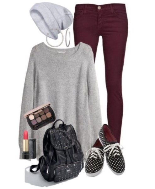 school-outfit-ideas-71 Fabulous School Outfit Ideas for Teenage Girls 2020