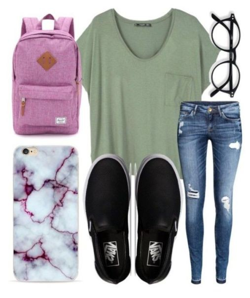 school-outfit-ideas-72 Fabulous School Outfit Ideas for Teenage Girls 2020