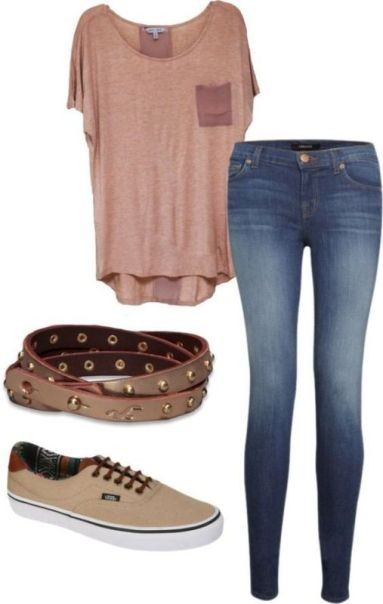 school-outfit-ideas-8 Fabulous School Outfit Ideas for Teenage Girls 2017/2018
