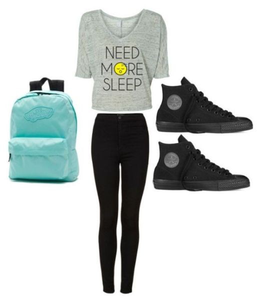 school-outfit-ideas-80 Fabulous School Outfit Ideas for Teenage Girls 2020