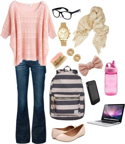 school-outfit-ideas-81 Fabulous School Outfit Ideas for Teenage Girls 2020