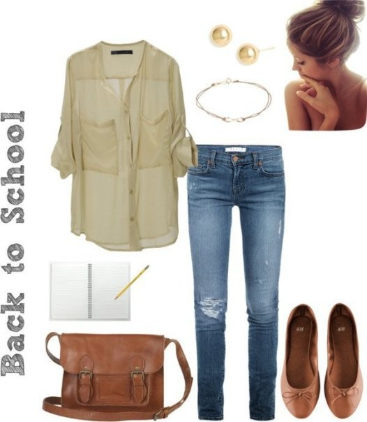 school-outfit-ideas-84 Fabulous School Outfit Ideas for Teenage Girls 2020