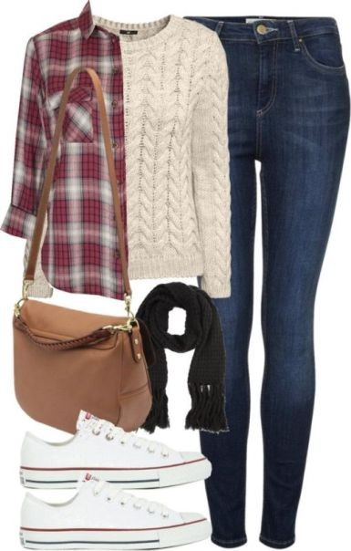 school-outfit-ideas-9 Fabulous School Outfit Ideas for Teenage Girls 2017/2018
