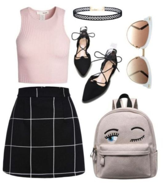 school-outfit-ideas-90 Fabulous School Outfit Ideas for Teenage Girls 2020