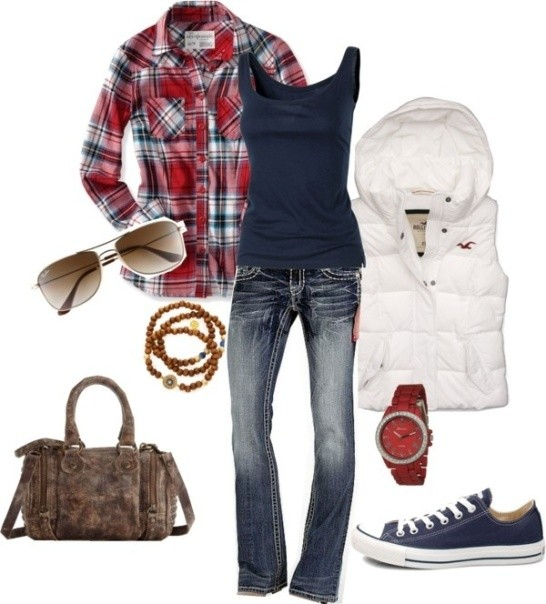 school-outfit-ideas-91 Fabulous School Outfit Ideas for Teenage Girls 2020