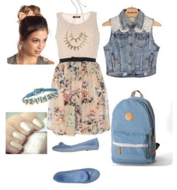 school-outfit-ideas-95 Fabulous School Outfit Ideas for Teenage Girls 2020