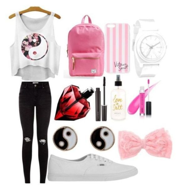 school-outfit-ideas-96 Fabulous School Outfit Ideas for Teenage Girls 2020