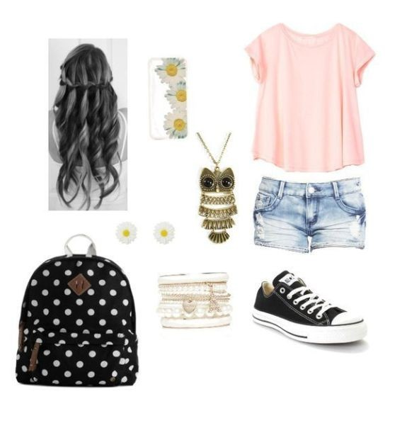 school-outfit-ideas-98 Fabulous School Outfit Ideas for Teenage Girls 2020