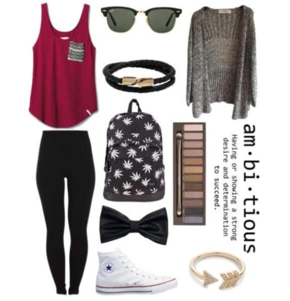 school-outfit-ideas-99 Fabulous School Outfit Ideas for Teenage Girls 2017/2018