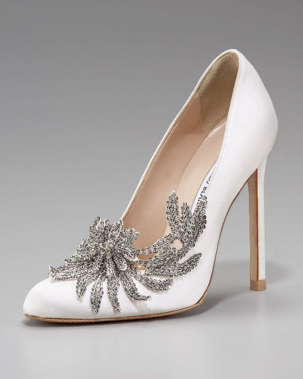 white-wedding-shoes-101 83+ Most Fabulous White Wedding Shoes in 2017